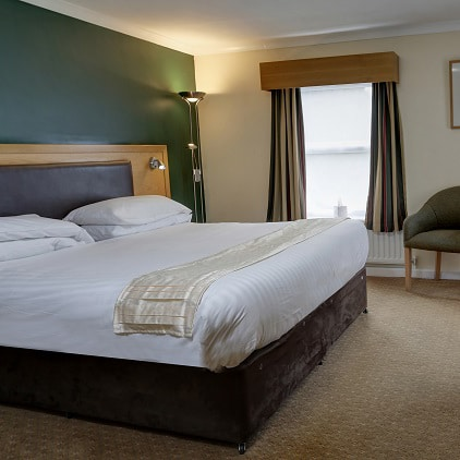 Overnight stay for two including breakfast at Burn Hall Hotel near York