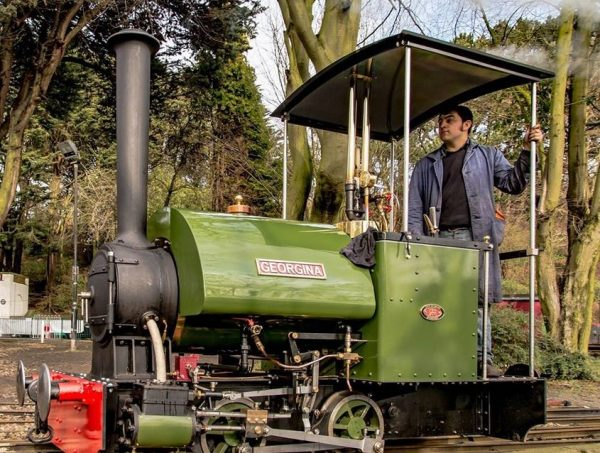 Steam engine driver experience - silver