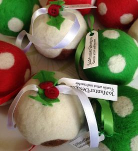 Christmas Baubles Felt Making Taster Experience