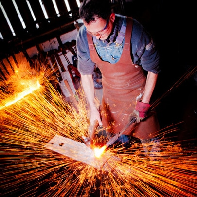 One Day Blacksmithing Course