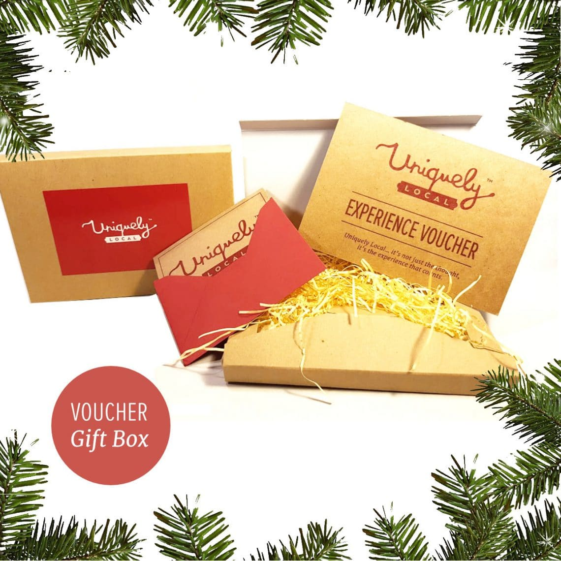Gift box for christmas eco friendly
