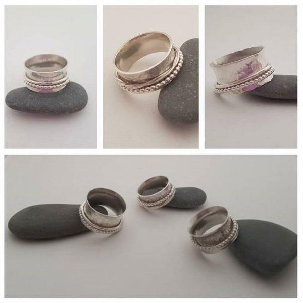 Silver Fidget Ring Jewellery Workshop