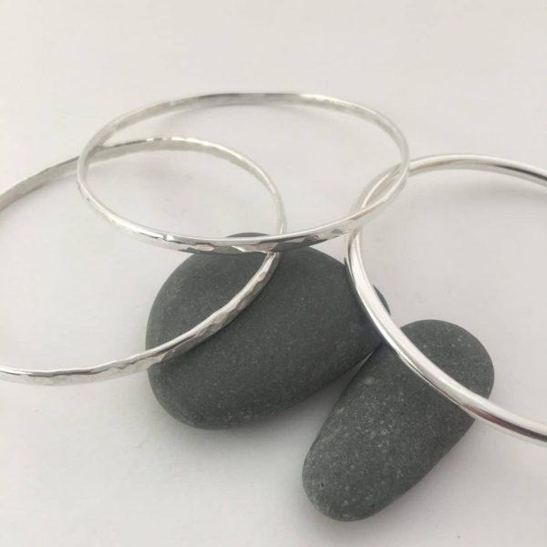 Silver bangles jewellery workshop
