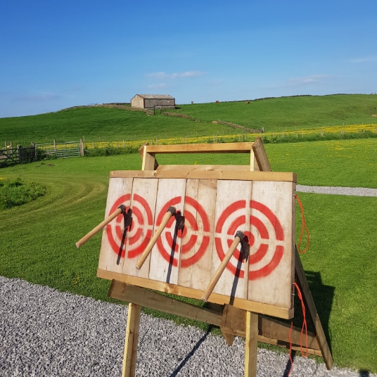 Hen and stag packages - archery and axe throwing