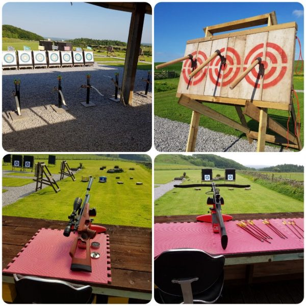 Target shooting group experiences
