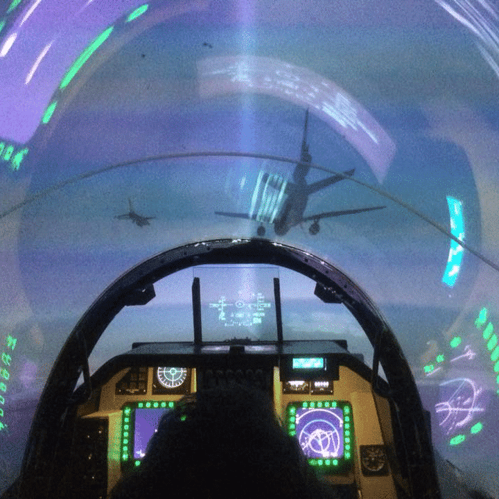 F-16 Yorkshire Fighter Pilot Experience