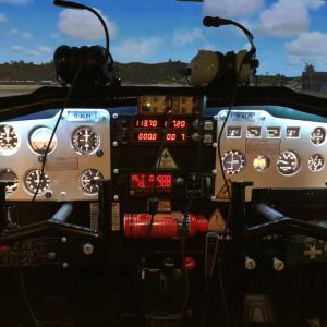 Cessna 172 Skyhawk Flight Simulator Experience