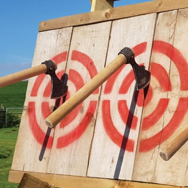 One Hour Axe Throwing Session in Sheffield