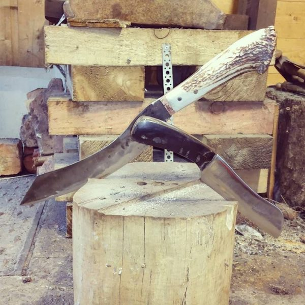 Hand Forge a Rustic Knife with Wooden or Antler Handle - 2 Day Course