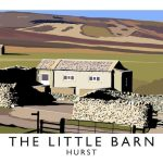 Digital Print of the Little Barn