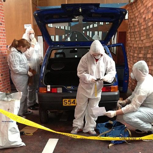 Crime Scene Investigator (CSI) Experience Day