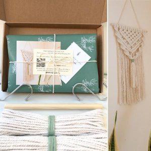 DIY Macrame Boho Wall Hanging Stay At Home Experience Kit