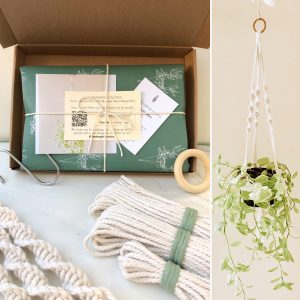 DIY Macrame Plant Hanger Stay At Home Experience Kit